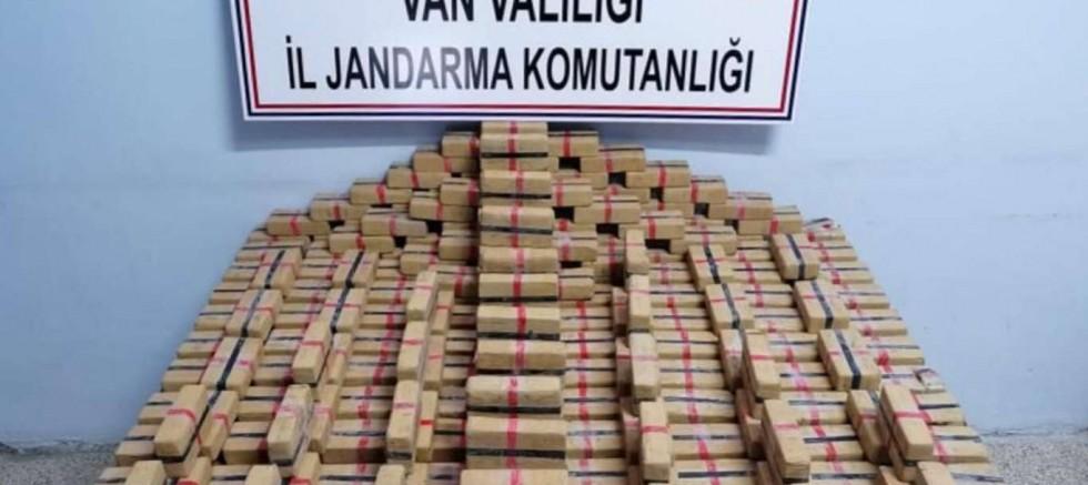 122 kilogram uyuşturucu ele geçirildi