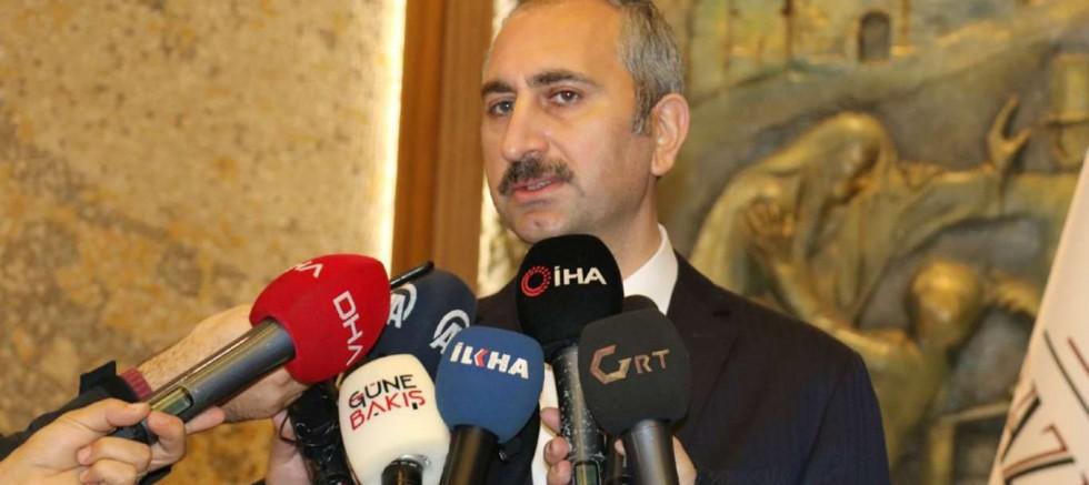 Adalet Bakanı Gül'den Bakan Soylu ve Berberoğlu açıklaması