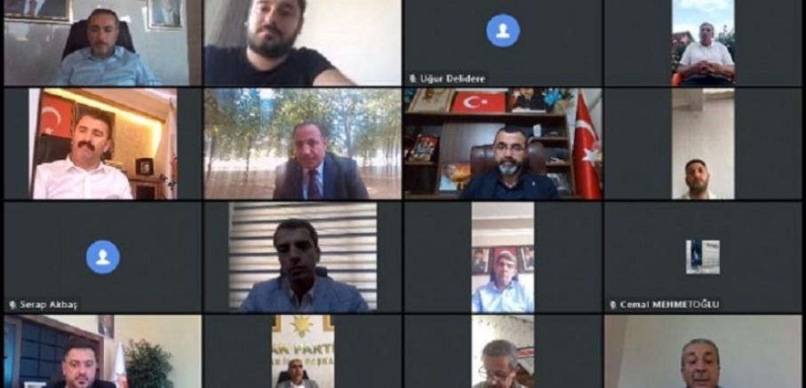 AK Parti'de online bayramlaşma