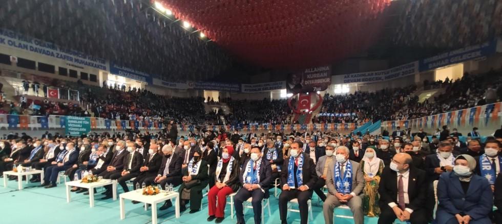 AK Parti Diyarbakır İl Başkanlığının 7. Olağan Kongresi yapıldı
