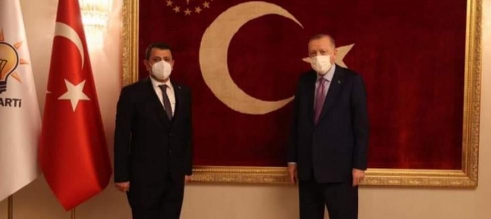 AK Parti MKYK üyesi Alaattin Parlak'a bir görev daha