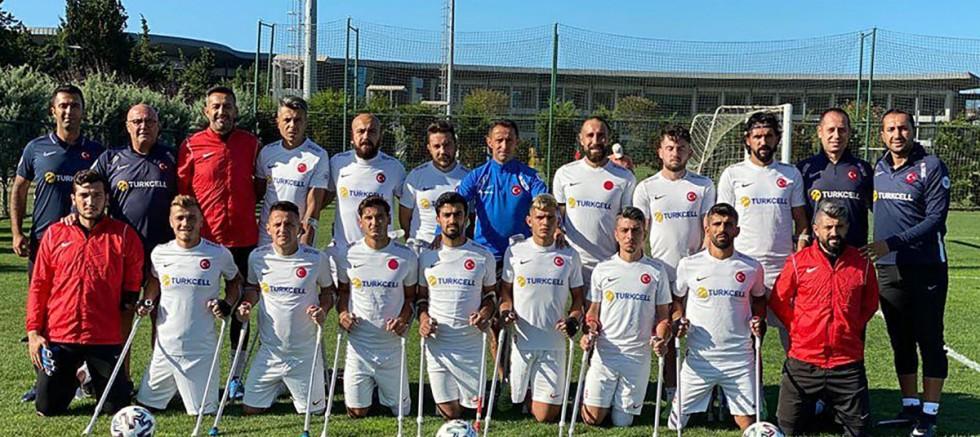 Ampute Futbol Milli Takımı, Avrupa Şampiyonası öncesi Riva'da kampa girdi