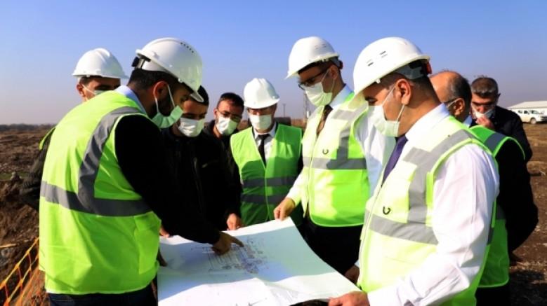Atıksu Arıtma Tesisi Dicle Nehri'nin kirlenmesini önleyecek