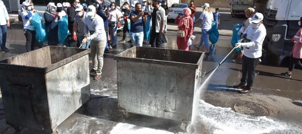 Beyoğlu, Dünya Çevre Günü'nde temizlik çalışmalarına katıldı