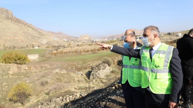 Büyükşehir Çermik'in atıksu ve kanalizasyon sorununu çözüyor