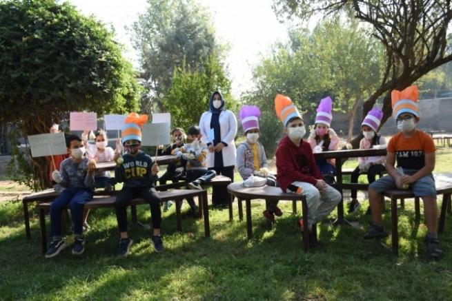Büyükşehir Dünya Gıda Günü'nü Öğrencilerle kutladı.
