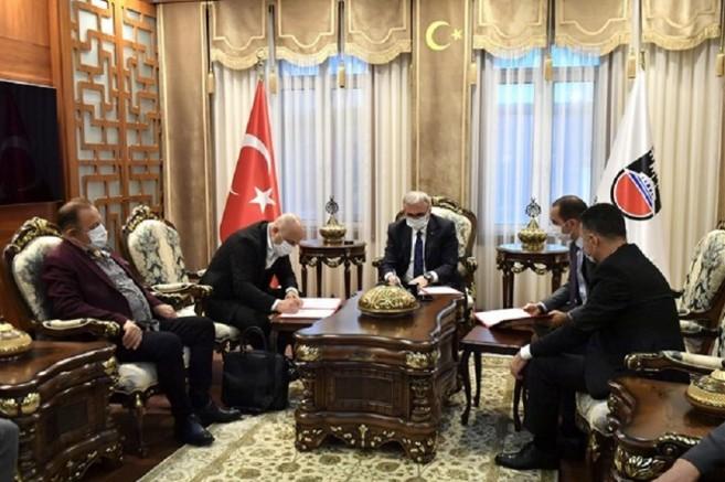 Çermik'te yapılacak Anadolu Lisesi'nin protokolü imzalandı