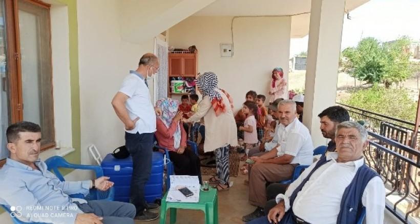 Çınar'da aşılama çalışmalarına hız verildi