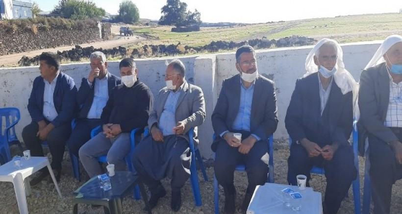 Çınar'da husumetli iki aile barıştı