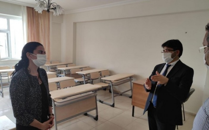 Çınar Meslek Yüksek Okulu'nun açılması için ön hazırlıklar başladı