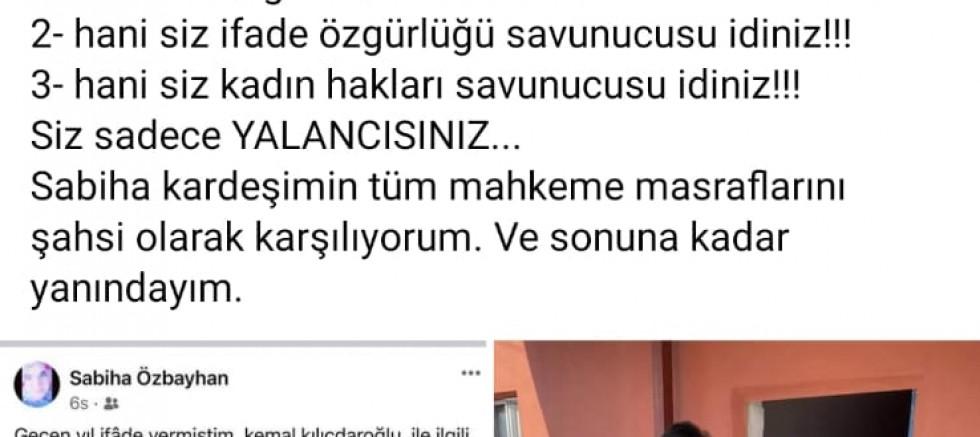 Daire Başkanı ile CHP arasından 'Kılıçdaroğlu' tartışması
