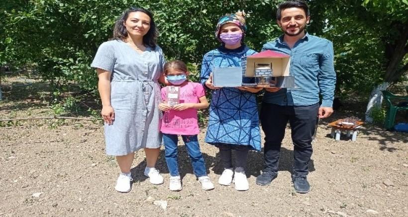 Dicle Değirmenli Ortaokulu TÜBİTAK'ın proje yarışmasında bölge finalinde yarışacak