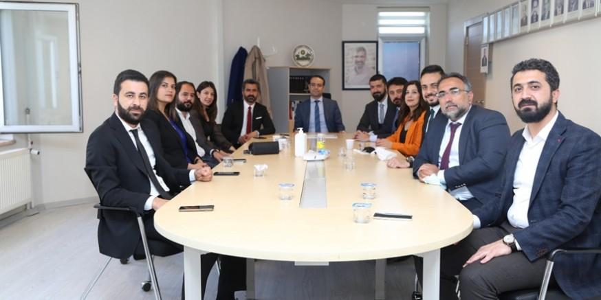 Diyarbakır Barosu'nun yeni yönetiminde görev dağılımı