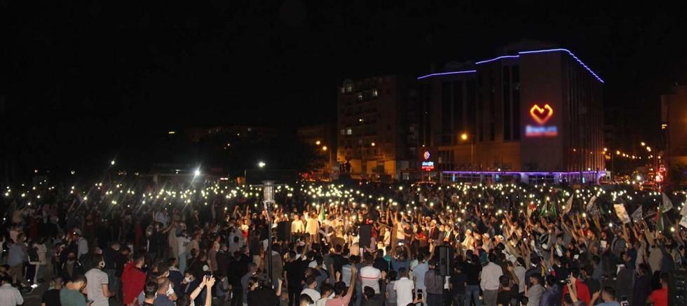 Diyarbakır'da Mescid-i Aksa'yı savunmaya hazır binler var