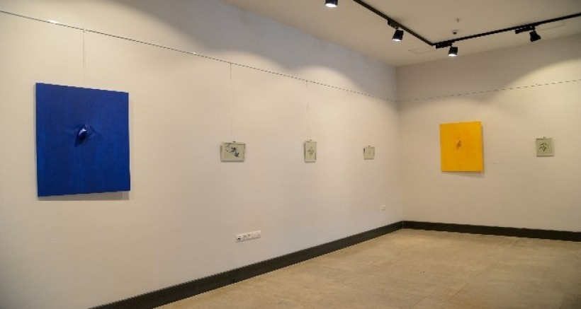 Diyarbakır'da 'Sergi Sarı Bayraklıdır' sergisi açıldı