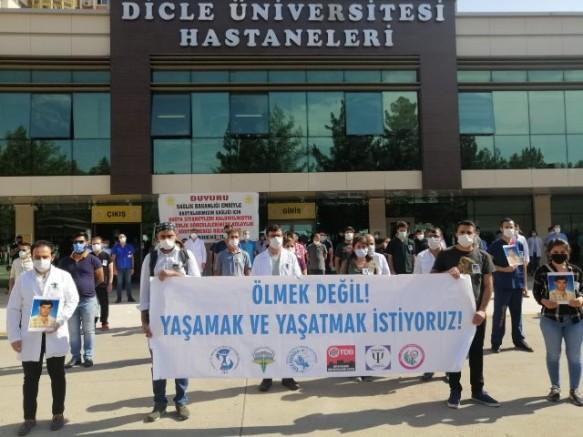 Diyarbakır Sağlık Platformu, Doç. Dr. Güzel'i andı
