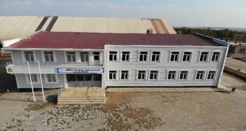 Ebru Yaşar Gülseven adına yaptırılan okul tamamlandı