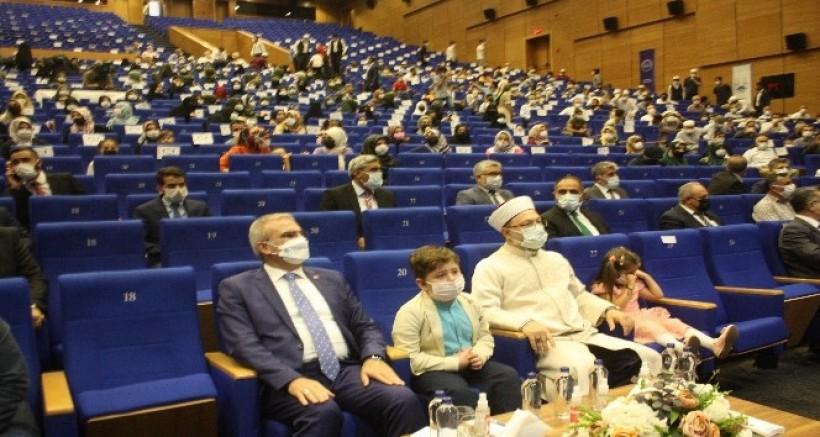 Erbaş Kur'an kurslarının açılışına katıldı
