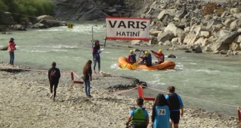 Hakkari'de düzenlenen Türkiye Rafting Şampiyonası sona erdi