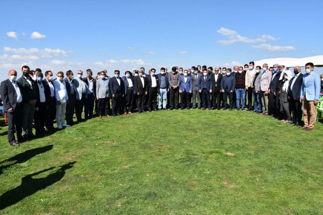 Karacadağ'da coşkulu karşılama