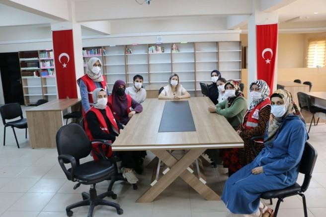 Kızılay'dan Cezaevindeki kadınlara destek!