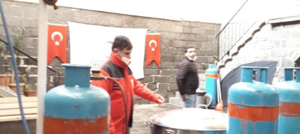 Kızılay Sur Şubesi'nden Ramazan yardımı