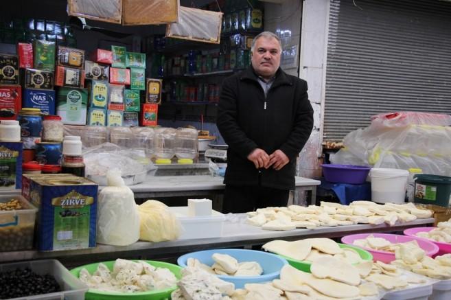 Peynirciler Çarşısı'nda açık işyeri sayısı 20'ye düştü