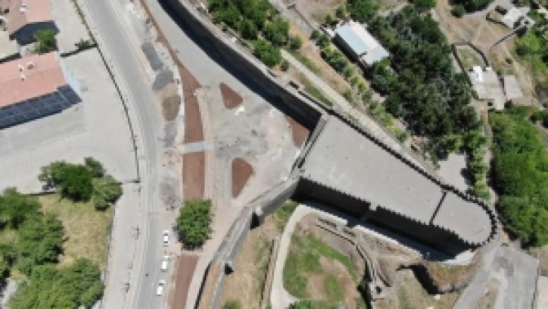 Sanatın yeni merkezi Keçi Burcu'ndaki çalışmalarda sona yaklaşıldı