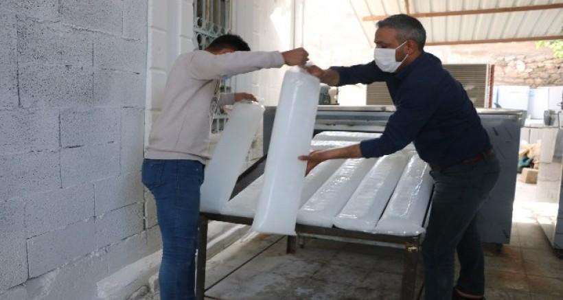 Şanlıurfa'da 'buz devri' başladı