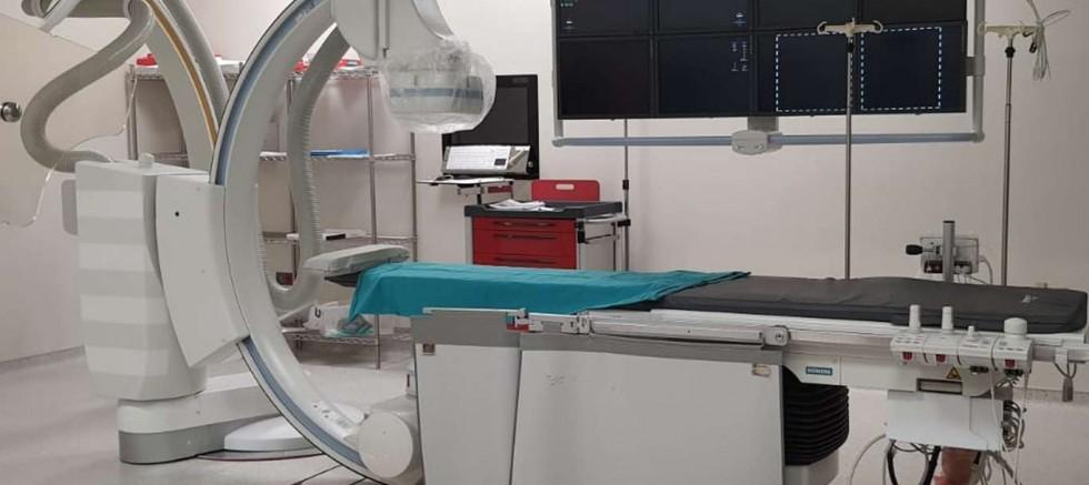 Şehir Hastanesinde aynı anda 4 hastaya anjiyo işlemi yapılabiliyor